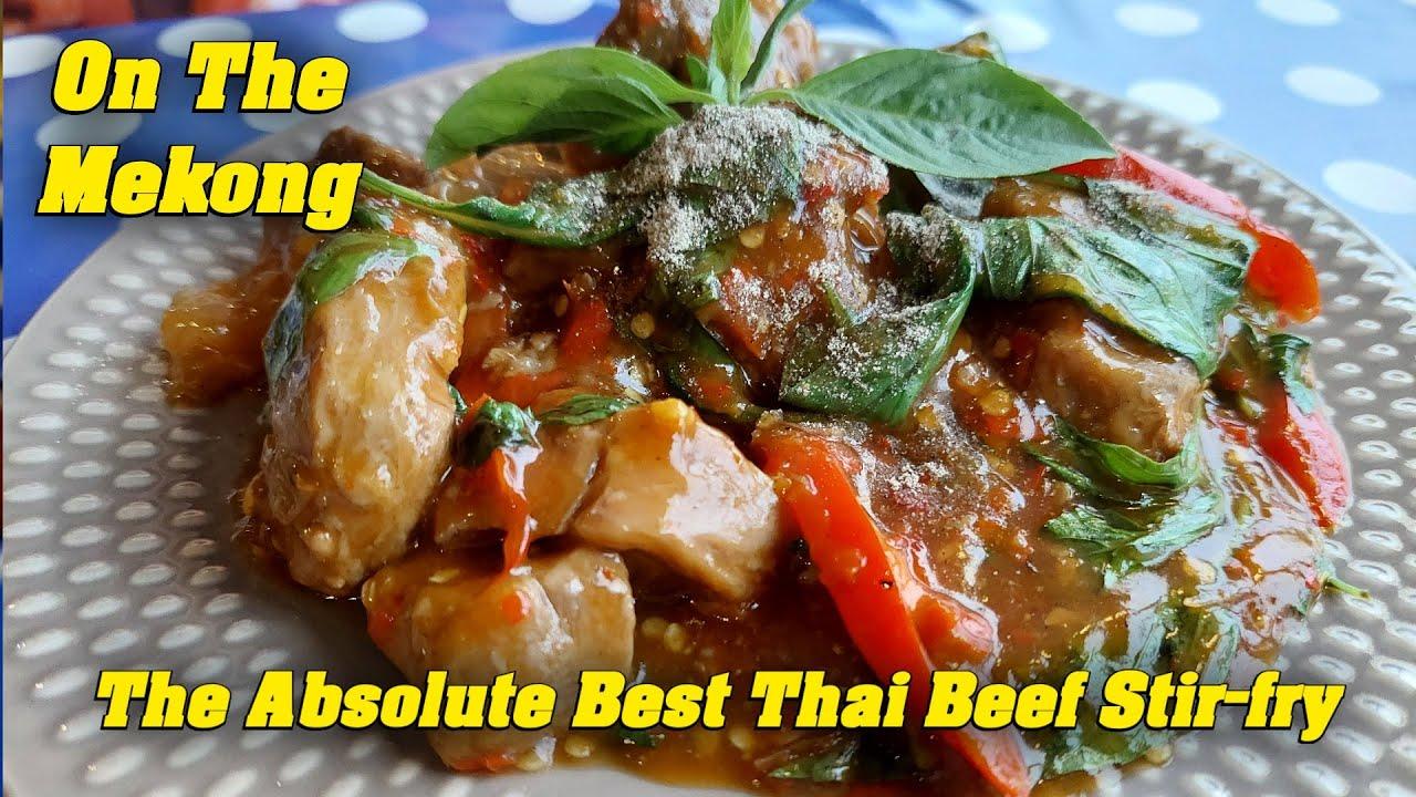 The Absolute Best Thai Beef Stir-Fry EVER Kankraw Kitchen