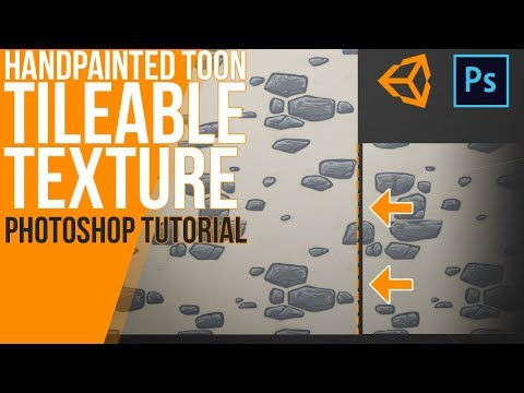 How do create your own seamless handpainted texture - Photoshop Tutorial thumbnail
