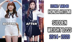 Hitomi #izone #本田仁美 Honda Hitomi is a Member of AKB48 and later debuted with IZONE after completing Produce 48. Recently she's lost a lot of weight and ...