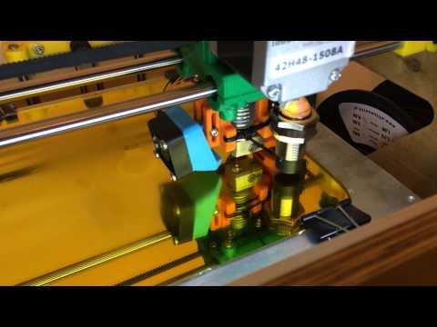 X3D XL 3D printer - Z Probe - Autoleveling