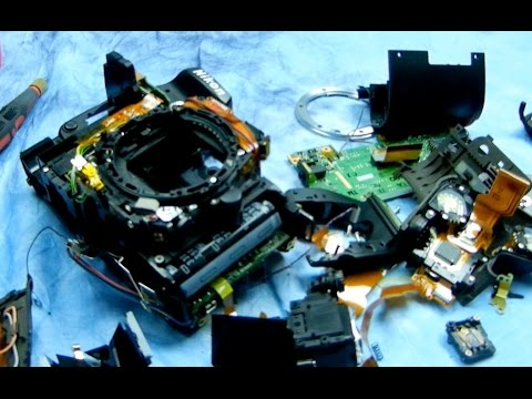 Angry Photographer: Mining for gold inside a Nikon DSLR,...screws, wires, capacitors OH MY