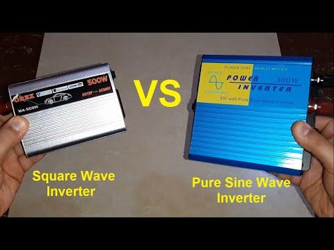 Inverter Comparison / Pure Sine Wave VS Square Wave Inverter