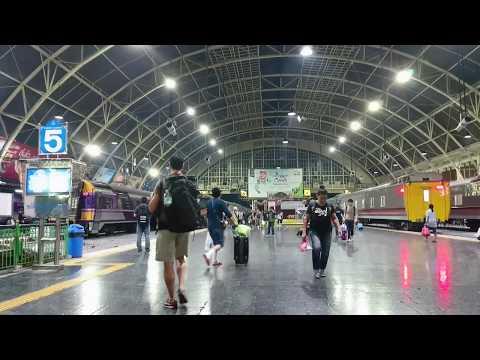 フワランポーン駅 Hua Lamphong Station สถานีรถไฟหัวลําโพง (Bangkok Railway Station)  /Xperia