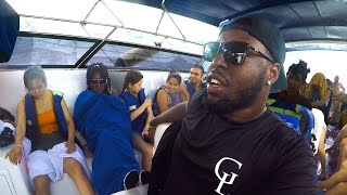 The BOAT RIDE From HELL! Exploring Phi Phi Island Thailand | Vlog 27