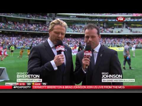 2014 AFL Grand Final - Sydney v Hawthorn Fox Footy Half-time