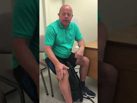 Mr Raghbir Khakha Knee Osteotomy Patient - 1 year on