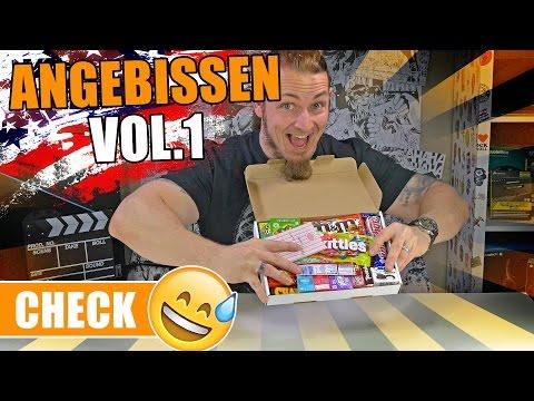 AMERICAN CANDY CHALLENGE 🍭 Angebissen Vol.1 [German, Deutsch]