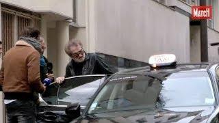 David Hallyday, Nathalie Baye et Eddy Mitchell au chevet de Johnny