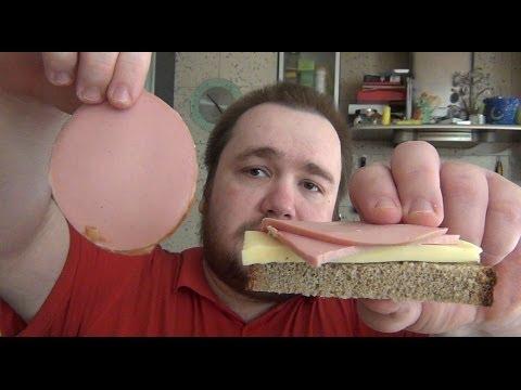 Лаваш с колбасой и сыром