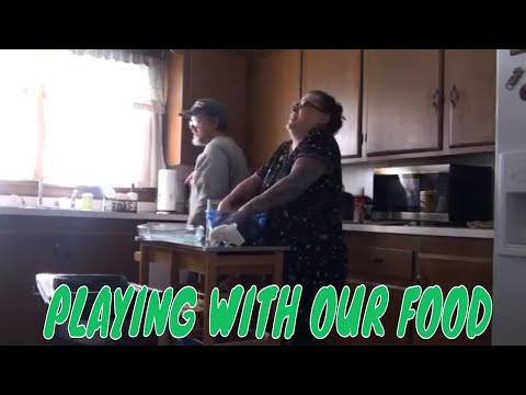 PLAYING WITH OUR FOOD