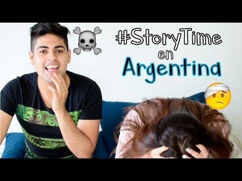 MAFE SE INTOXICÓ EN ARGENTINA #StoryTime | Alejo&Mafe