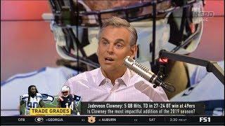 THE HERD | Jadeveon Clowney: 5 QB Hits, TD in 27-24 OT win at 49ers