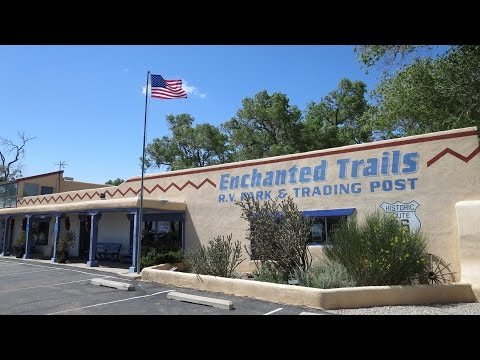 Enchanted Trails RV Park - Albuquerque, NM.