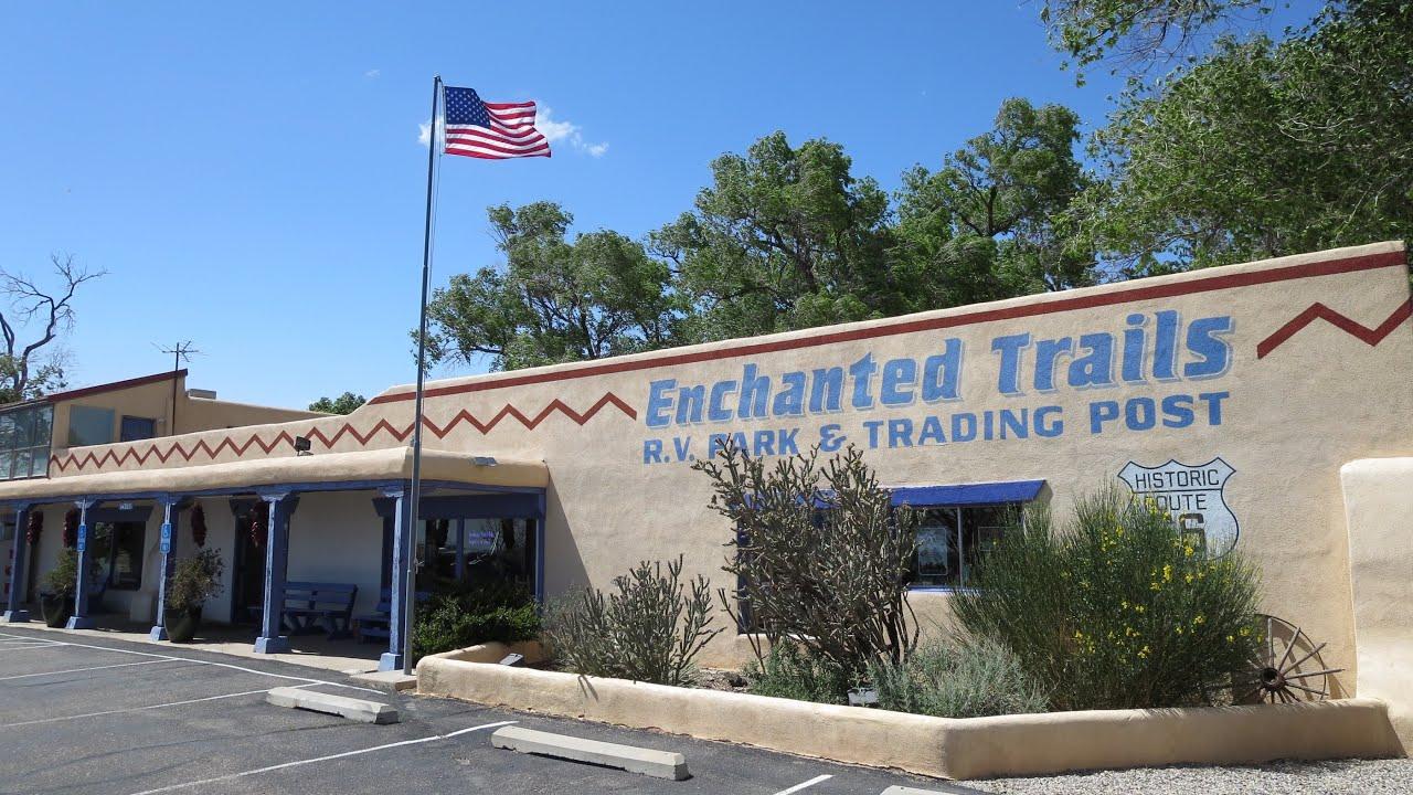 Enchanted Trails Rv Park Albuquerque Nm Youtube