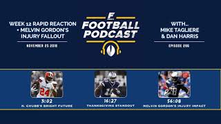 Week 12 Rapid Reaction + Melvin Gordon