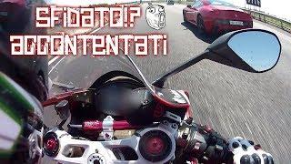 RITORNO DAL NORD - Panigale 1199 / Ninja ZX10R VS Ferrari California / Ferrari 458 😈