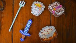 пИКСЕЛЬНЫЕ ПРЕДМЕТЫ ИЗ МАЙНКРАФТА #minecraft #DIY #майнкрафт