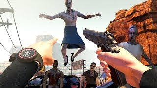 Video My FAVORITE VIRTUAL REALITY Zombie Apocalypse Game (Arizona Sunshine Funny Moments) download MP3, 3GP, MP4, WEBM, AVI, FLV November 2018
