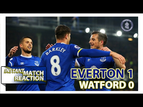 Barkley Signs Off Season In Style | Everton 1-0 Watford | Instant Match Reaction