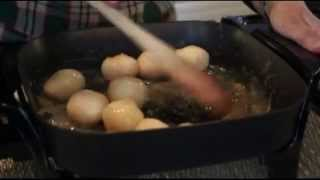 How to make easy Danish Sugar Browned Potatoes. Dinner Side Dish Recipe. Brunede Kartofler Christmas