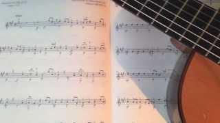 Alberto Garau, Guitar - Sonata K.322 (Domenico Scarlatti)