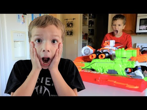 Nerf War:  Home Alone