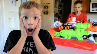 Nerf War : Home Alone (No Parents?)