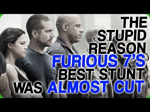 The Stupid Reason Furious 7's Best Stunt was Almost Cut
