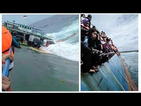 Naufrágio de ferry faz 34 mortos