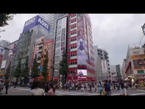 tokyo japan today's akihabara sunday afternoon sept 2015