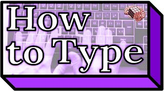 How to Type (touch-typing tutorial)