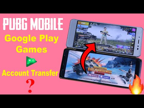 How To Trasnfer PUBG Mobile Google Play Games Account From One Phone To Another Phone 📱📲| In HIndi