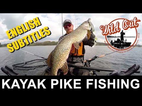 1. Maj - PIKE FISHING - kayak action - big pike - Team Wild Out