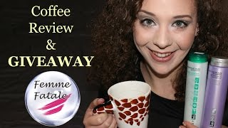 Coffee Review & GIVEAWAY: προϊόντα μαλλιών femme-fatale.gr | AnotherMakeupWorld