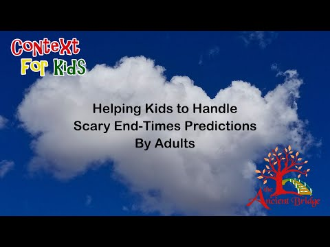 When Adults Predict Scary Things