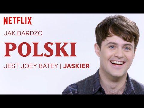Jak Bardzo Polski Jest Joey Batey | Wiedźmin | Netflix