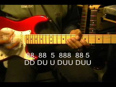 How To Play Michael Jackson BAD Guitar Funky Strumming Tutorial EricBlackmonMusic