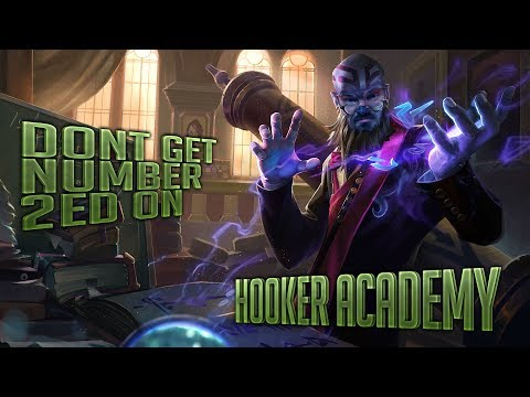 Hooker Academy - Level 2 powerspike, don't get #2ed on
