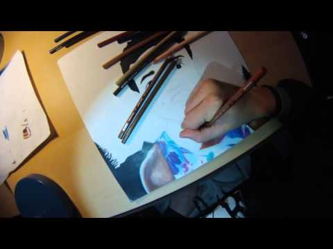Chance the Rapper Timelapse Drawing