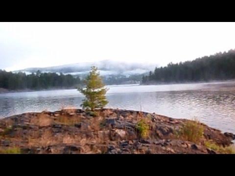 Killarney Provincial Park La Cloche Silhouette Trail Hiking Trailer