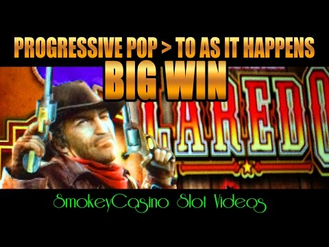 LAREDO Slot Machine Progressive and 2nd Super Big Win Surprise - WMS from YouTube · High Definition · Duration:  2 minutes 9 seconds  · 4000+ views · uploaded on 07/03/2016 · uploaded by SmokeyCasino Slot Videos