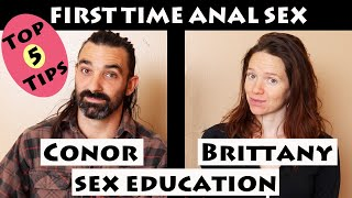 First Time Anal Sex Top 5 Tips [sex education]