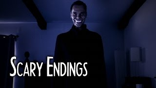 THE GRINNING MAN - Horror Short Film - Scary Endings 1.9