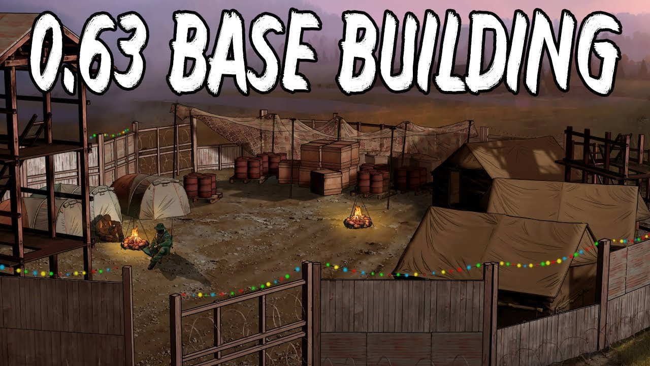 DayZ Standalone Beta 0 63 - Base Building