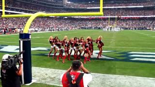 Texans Cheerleaders -- Two Minute Warning Routine