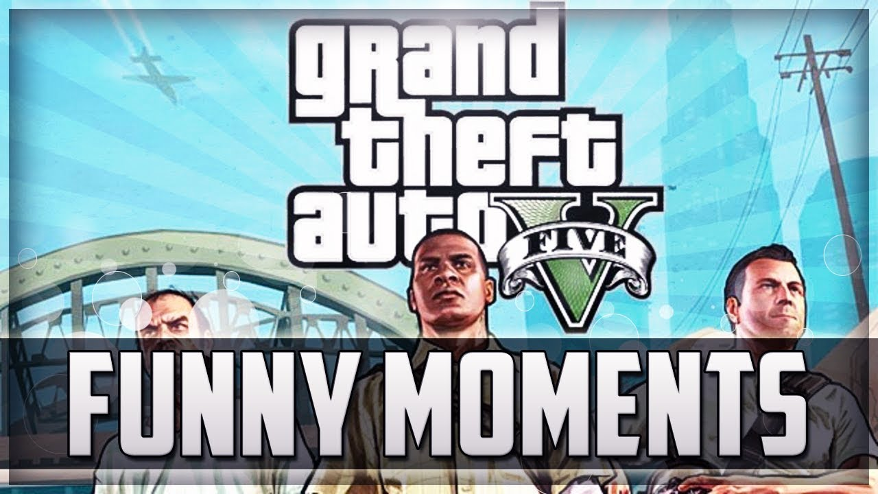 Gta V Online Funny Moments Train Fun Is That A Plane