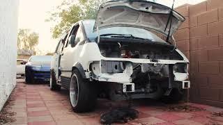 Drift Van Teaser For Roofless Garage