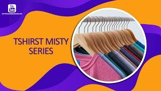 TERMURAH - Baju Kaos Polos Pendek Distro Katun Combed Premium Misty - Unisex Cocok Untuk Pria Dan Wanita