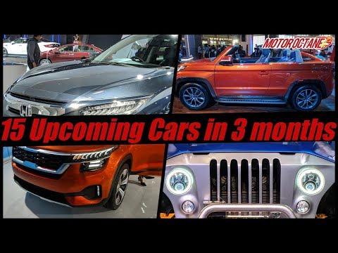 15 Upcoming Cars in India in next 3 months    Hindi   MotorOctane