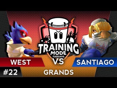 TMT 22 - Westballz (Falco) vs. Santiago (Sheik/Falco) - SSBM Grand Finals - Smash Melee
